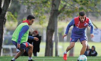 Leandro Barcia ya entrena normal<br>