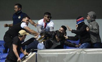 Incidentes en Lyon-Besiktas