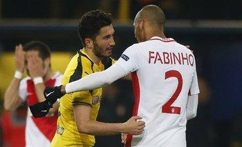 Borussia Dortmund y Mónaco protagonizan una serie muy pareja
