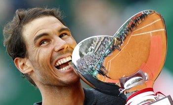 Rafael Nadal celebró en Monte Carlo un título que no fue uno más<br>
