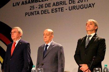 Bach, Maglione y Cáceres en Punta del Este