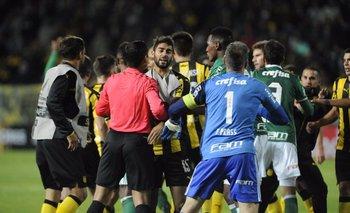 Incidentes Peñarol-Palmeiras