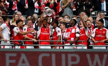 Arsenal se adjudicó la FA Cup<br>