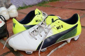 MC8, los zapatos personalizados de Matías Cabrera<br>