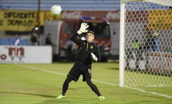 Kevin Dawson debutó en Peñarol<br>