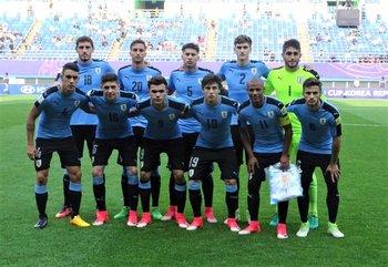 El equipo que salió a la cancha ante Venezuela