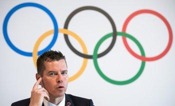 <p>El director de deportes del COI, Kit McDonnell, hizo los anuncios</p><p></p>