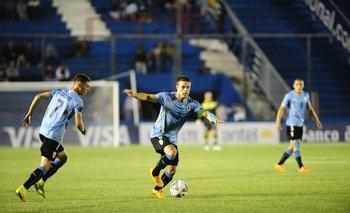 Nahitan Nandez fue el único juvenil sub 20 en tener minutos en la selección mayor