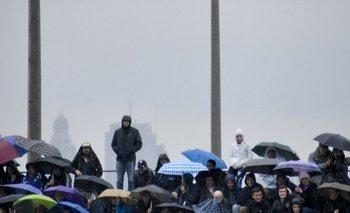 <p>El invierno afloró por Montevideo y los hinchas de Defensor, que fueron al Capurro, lo padecieron. </p>