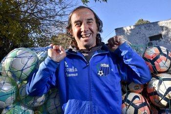 El Topo Álvaro Pérez lleva 20 años en Liverpool<br>