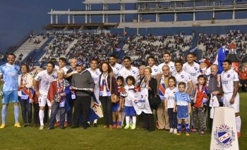 Nacional homenajeó a abuelos socios del club, previo al partido ante Juventud<br>