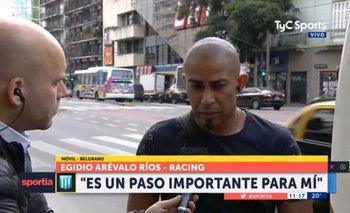 Arévalo Ríos en Buenos Aires