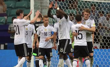 Alemania goleó a México