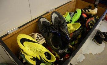 Los zapatos de los jugadores danubianos<br>