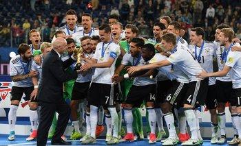 El festejo alemán en Rusia