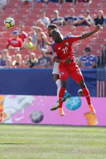 Abdiel Arroyo, marcó para Panamá ante Martinica, por Copa de Oro de la Concacaf<br>