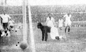El gol del Manco Castro a Perú