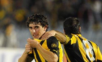 Mathías Corujo en su pasaje por Peñarol