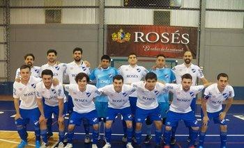 El equipo tricolor de fútbol sala, una de las apuestas albas en deportes.<br>