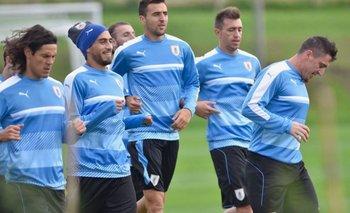 Uruguay entrenó en el Complejo Celeste
