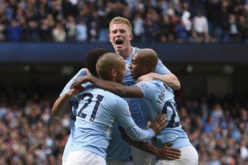 Manchester City, líder en Inglaterra, jugará este domingo.<br>