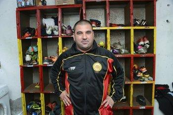 Marcelo Acosta el utilero de los gauchos de La Teja<br>