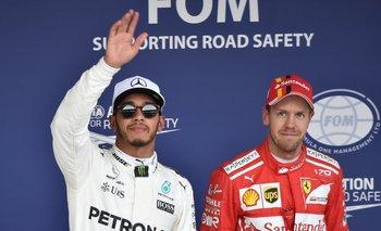 Hamilton y Vettel<br>