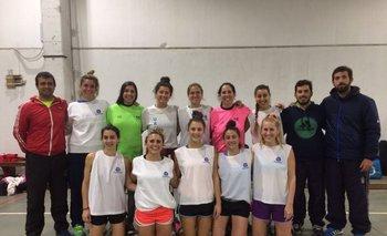 La selección indoor de Uruguay