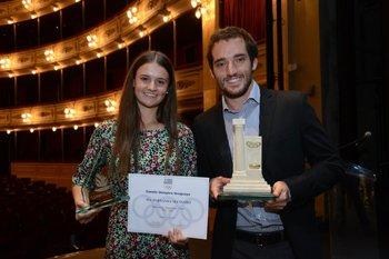 Fernanda Secinaro y Emiliano Lasa
