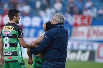 Mathías López se suma al festejo