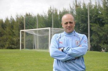 Fabián Coito, director técnico de la selección Sub 20.<br>