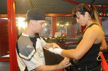 Gabriel Belela y Chris Namús