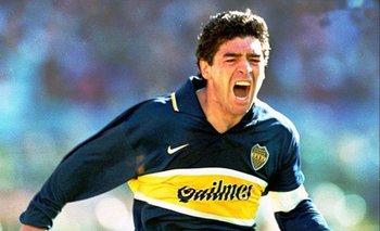 Maradona a puro festejo