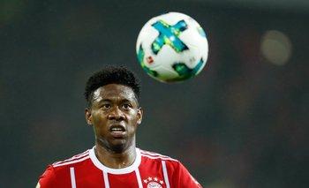 David Alaba, jugador de Bayern Múnich y figura de Austria
