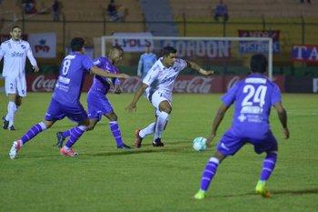 Diego Polenta en acción<br>