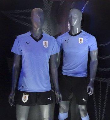 63f446537 Esta es la camiseta con la que Uruguay jugará el Mundial