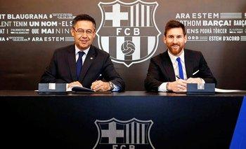 Bartomeu y Messi