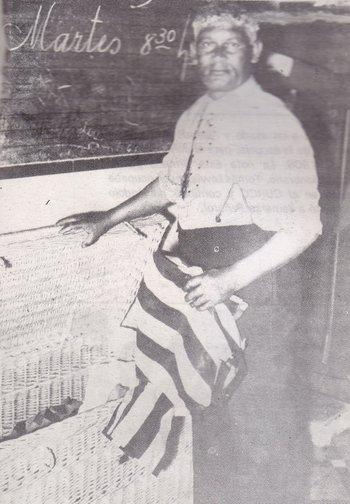 Juan Delgado, el hombre que inició la dinastía. Fue jugador del club y lo recuerdan por su sabiduría
