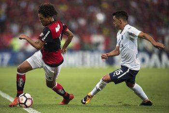 Con Independiente en 2017, campeón de la Sudamericana