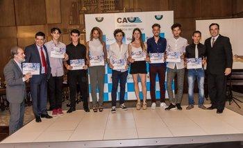 La CAU premió a sus mejores atletas