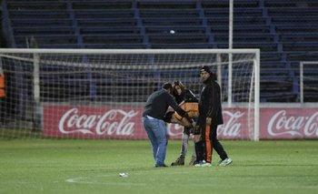 Yantorno no aguantó las lágrimas y se fue asistido por Gustavo Bueno y allegados