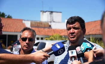El presidente de Peñarol en Los Aromos