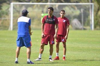 Alexander Medina, Luis Aguiar y Juan Manuel Sanabria<br>