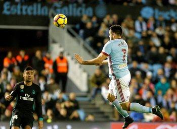 Volvió al gol Maximiliano Gómez, para el 3-2 de Celta ante Villarreal