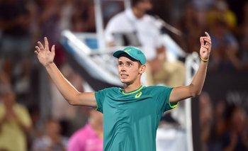 <p>Alex de Miñaur, el tenista autraliano hijo de padre uruguayo</p><p></p>