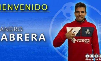 Cabrera ya fue presentado en Getafe