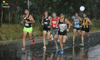 Los punteros de la 10K Arequita en lo primeros kilómetros