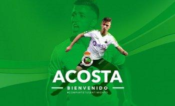 Racing le da la bienvenida a Franco Acosta<br>