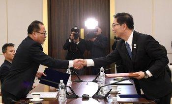 Representantes de las dos Coreas llegaron a un acuerdo