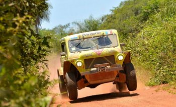 El Rastrojero en el Dakar 2017